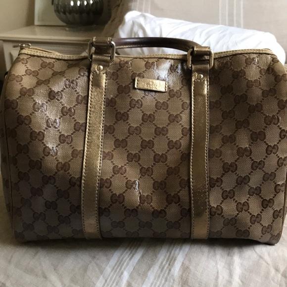 Gucci Handbags - Vintage Gucci doctor bag